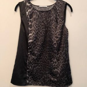 Elie Tahari  animal print top